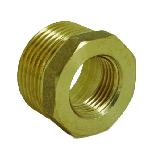 Brass Hexagon Bush