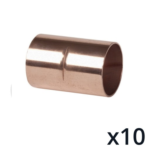 10 x End Feed Coupler 10mm