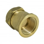 Female Iron Brass Compression Coupling