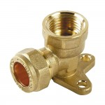 Compression Wall Plate Elbow