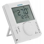Siemens Programmable Room Thermostat - Wireless RDJ100RF