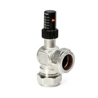 Anti Tamper Auto Bypass Valve Angled 22mm